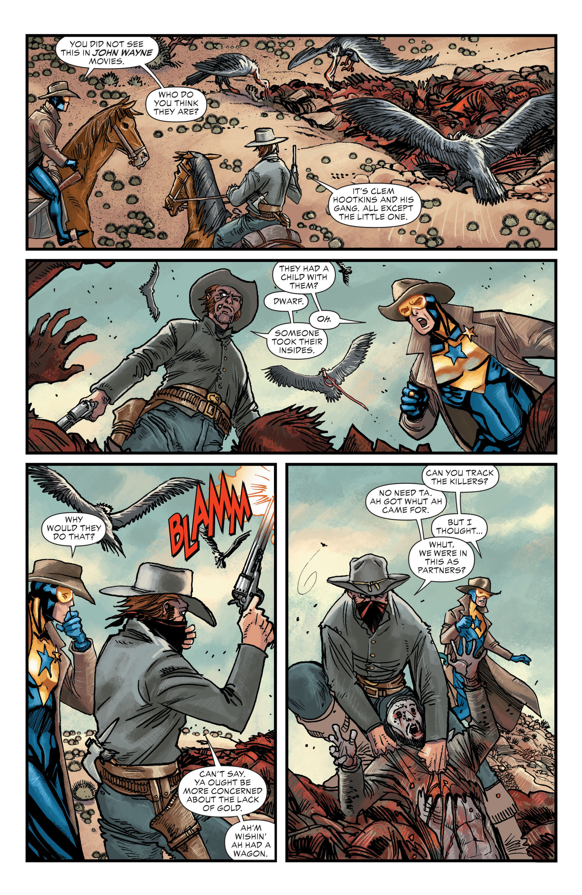 Read online All-Star Western (2011) comic -  Issue #20 - 5