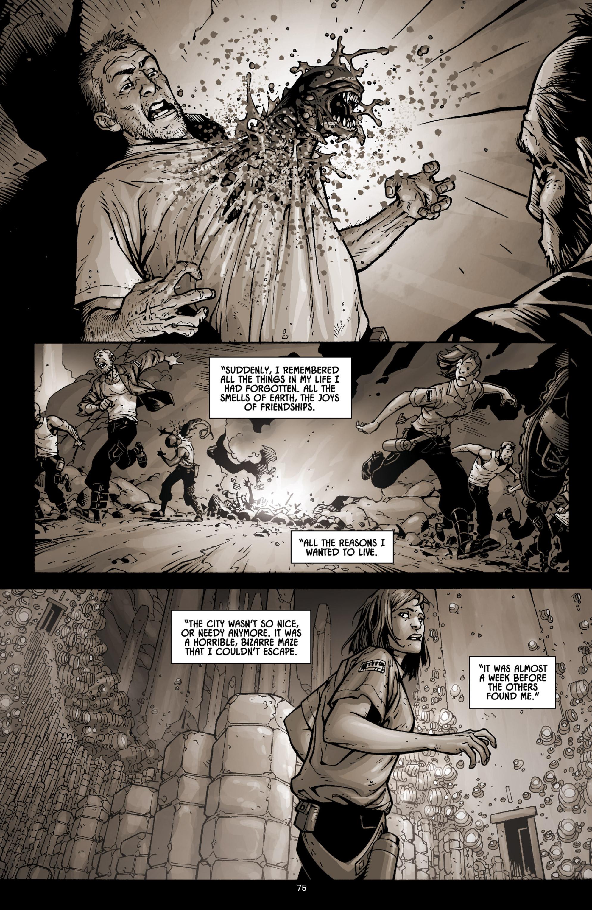 Read online Aliens (2009) comic -  Issue # TPB - 71