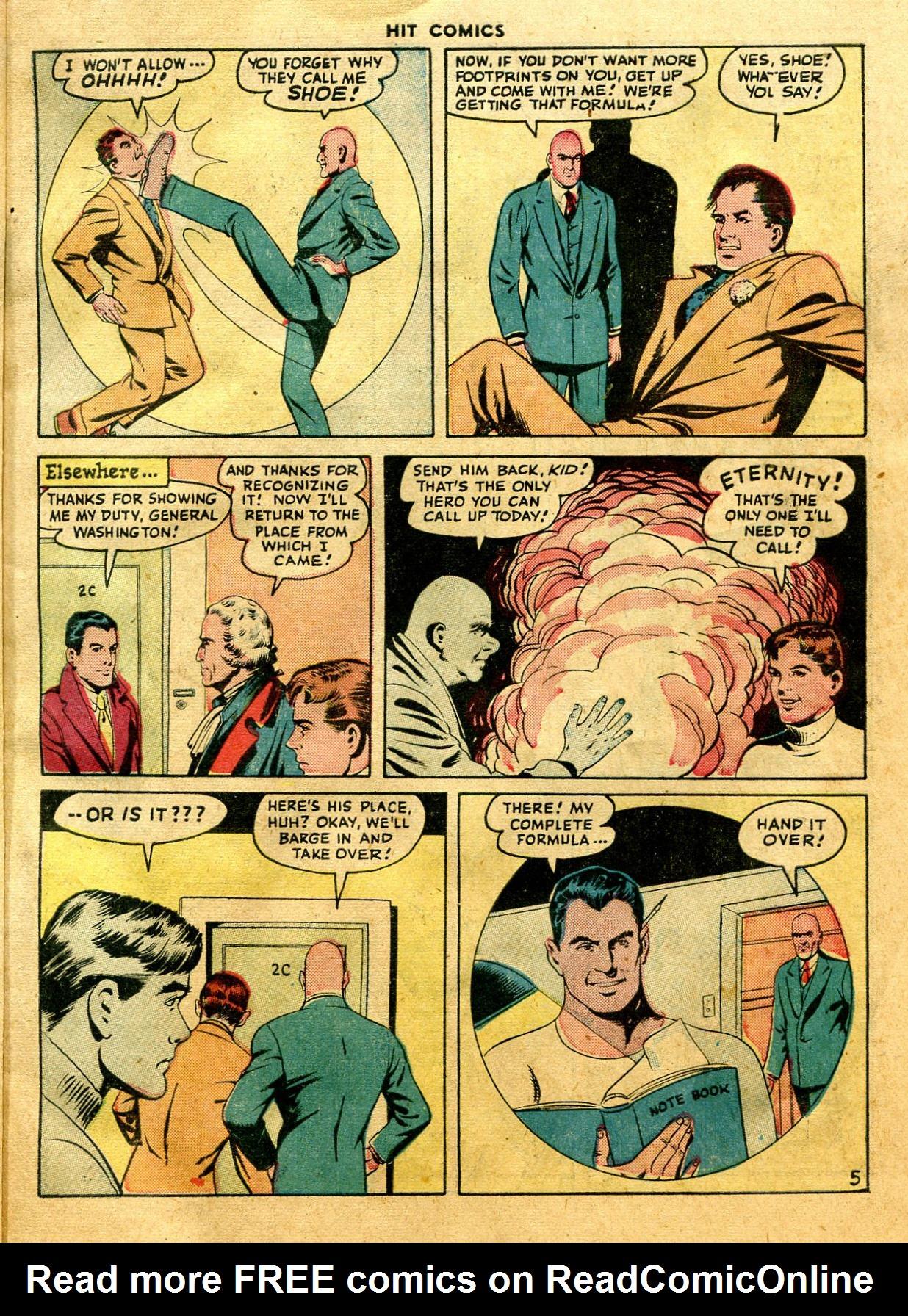 Read online Hit Comics comic -  Issue #44 - 7