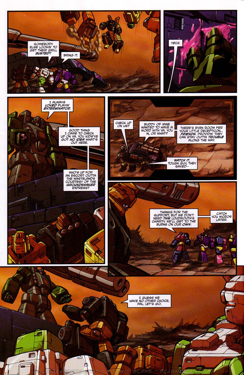 Read online Transformers: Micromasters comic -  Issue #2 - 7