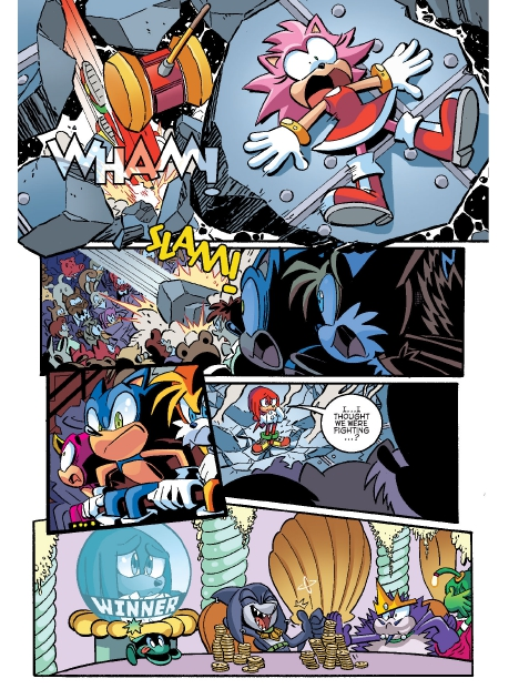 Read online Sonic Comics Spectacular: Speed of Sound comic -  Issue # Full - 46