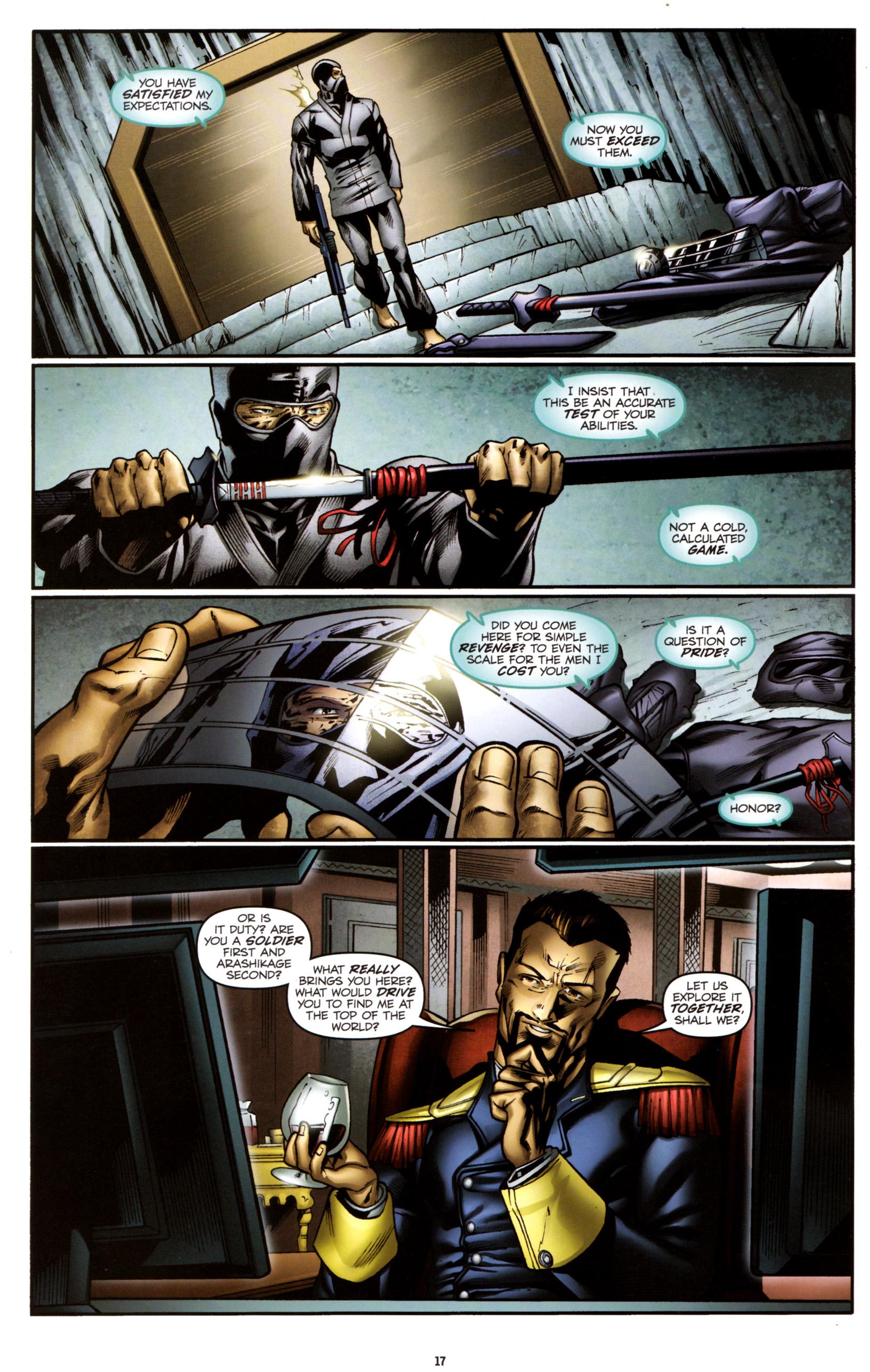 Read online G.I. Joe: Snake Eyes comic -  Issue #3 - 20