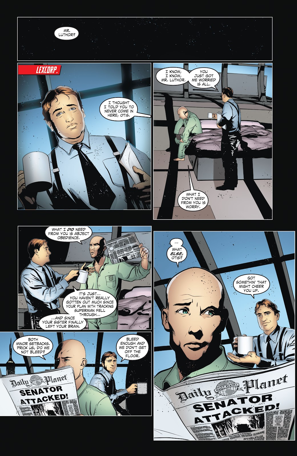 Read online Smallville Season 11 [II] comic -  Issue # TPB 6 - 12