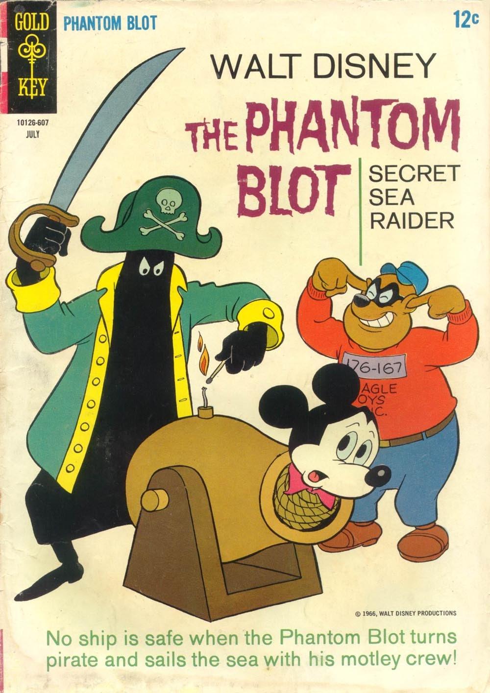 Walt Disneys The Phantom Blot 6 Page 1
