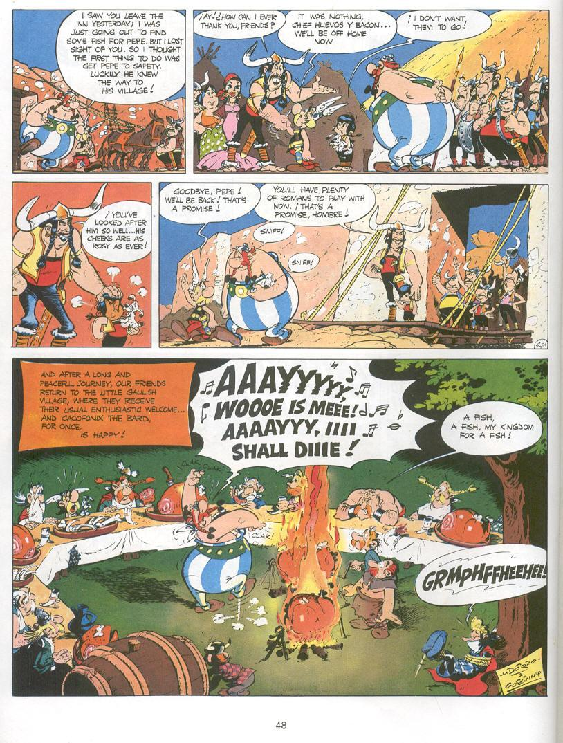 Read online Asterix comic -  Issue #14 - 45