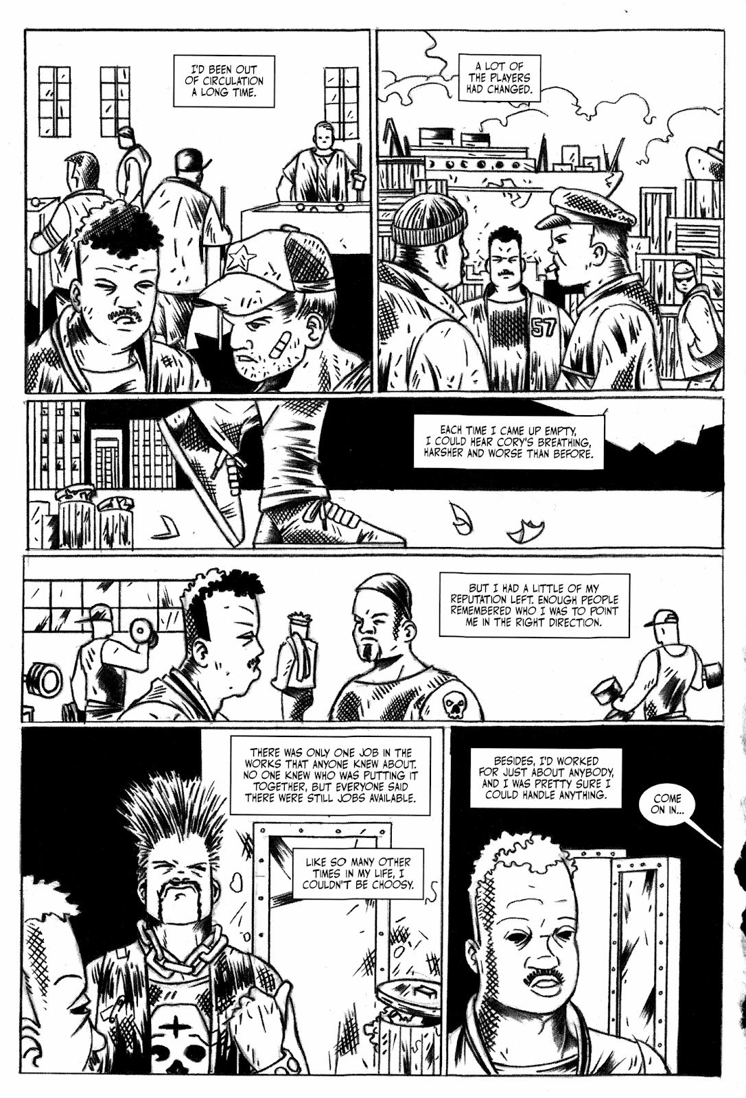 Read online Hench comic -  Issue # TPB - 60