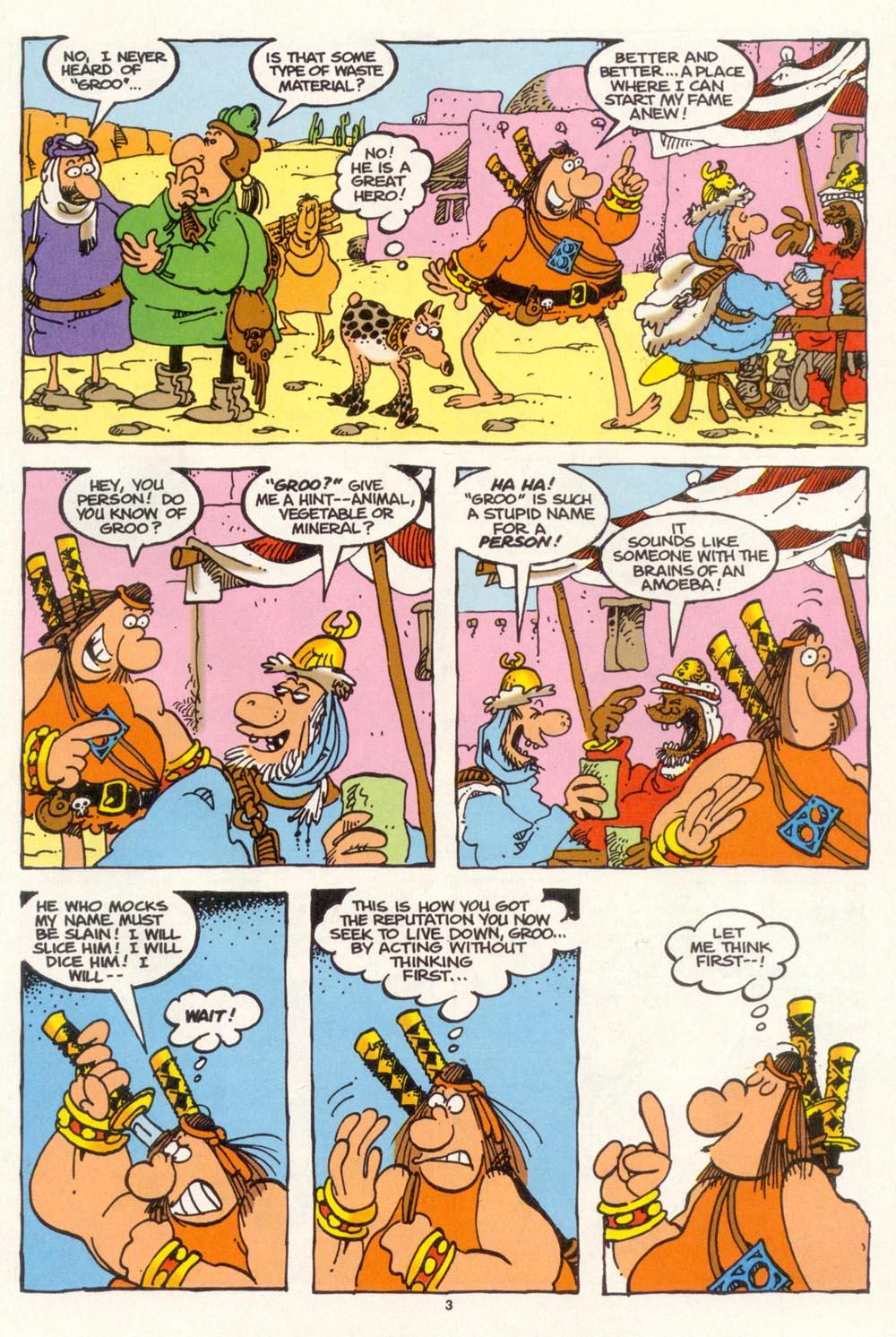 Read online Sergio Aragonés Groo the Wanderer comic -  Issue #102 - 5