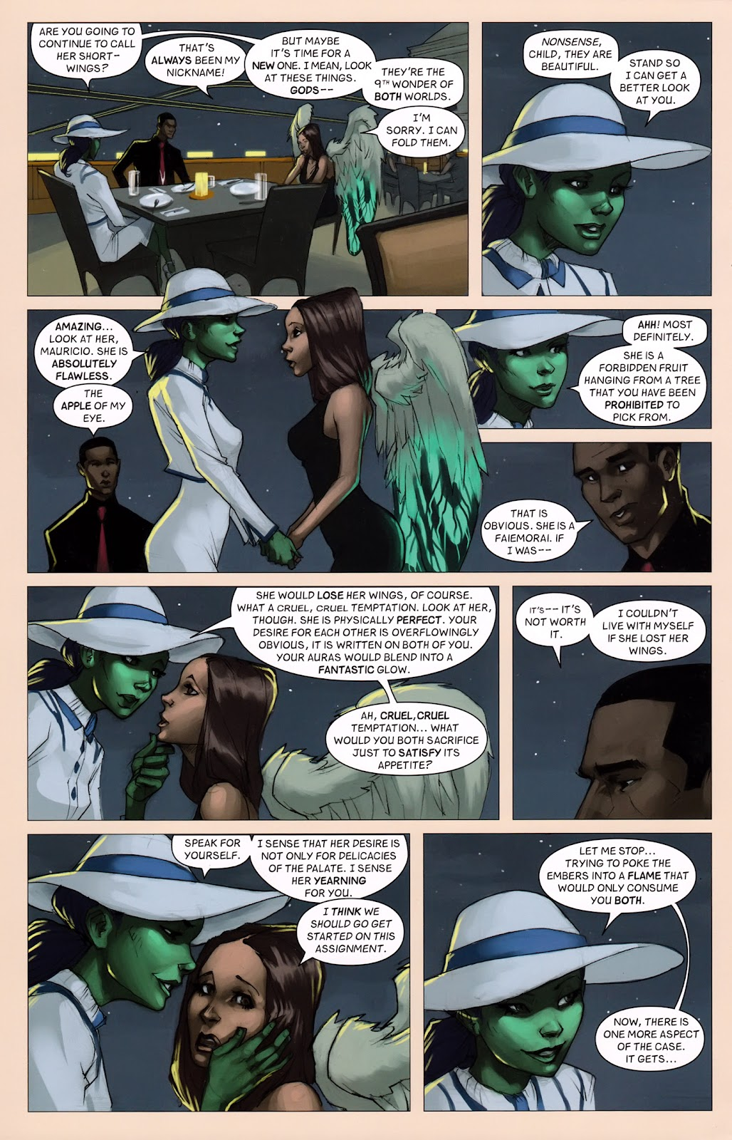 Read online Vescell comic -  Issue #6 - 18