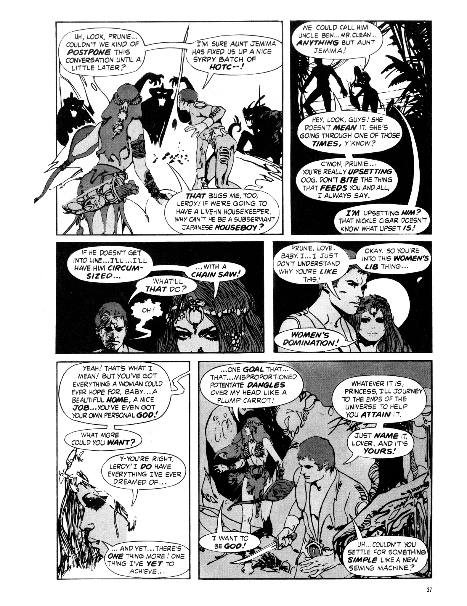 Read online Eerie Archives comic -  Issue # TPB 16 - 38