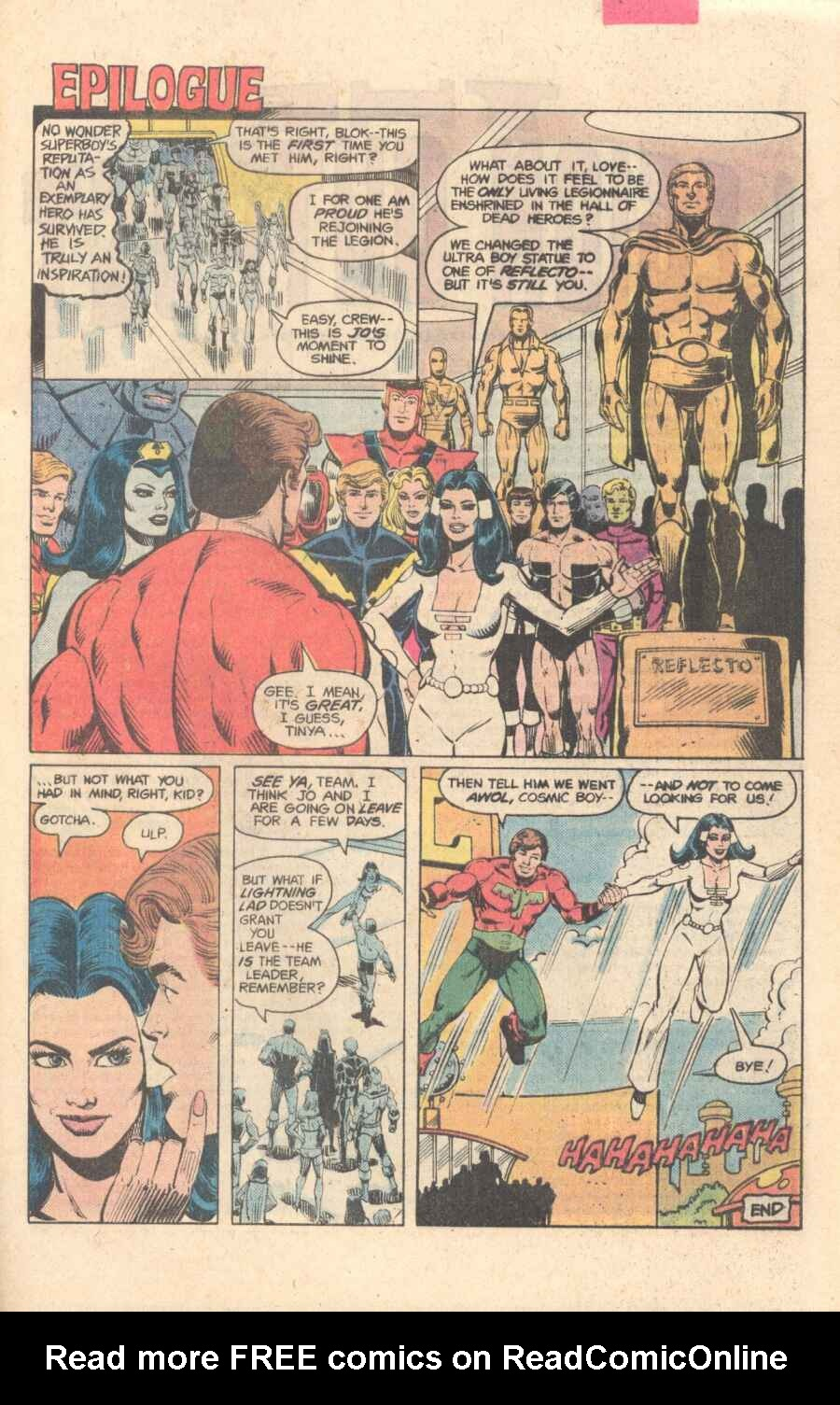 Legion of Super-Heroes (1980) 282 Page 27