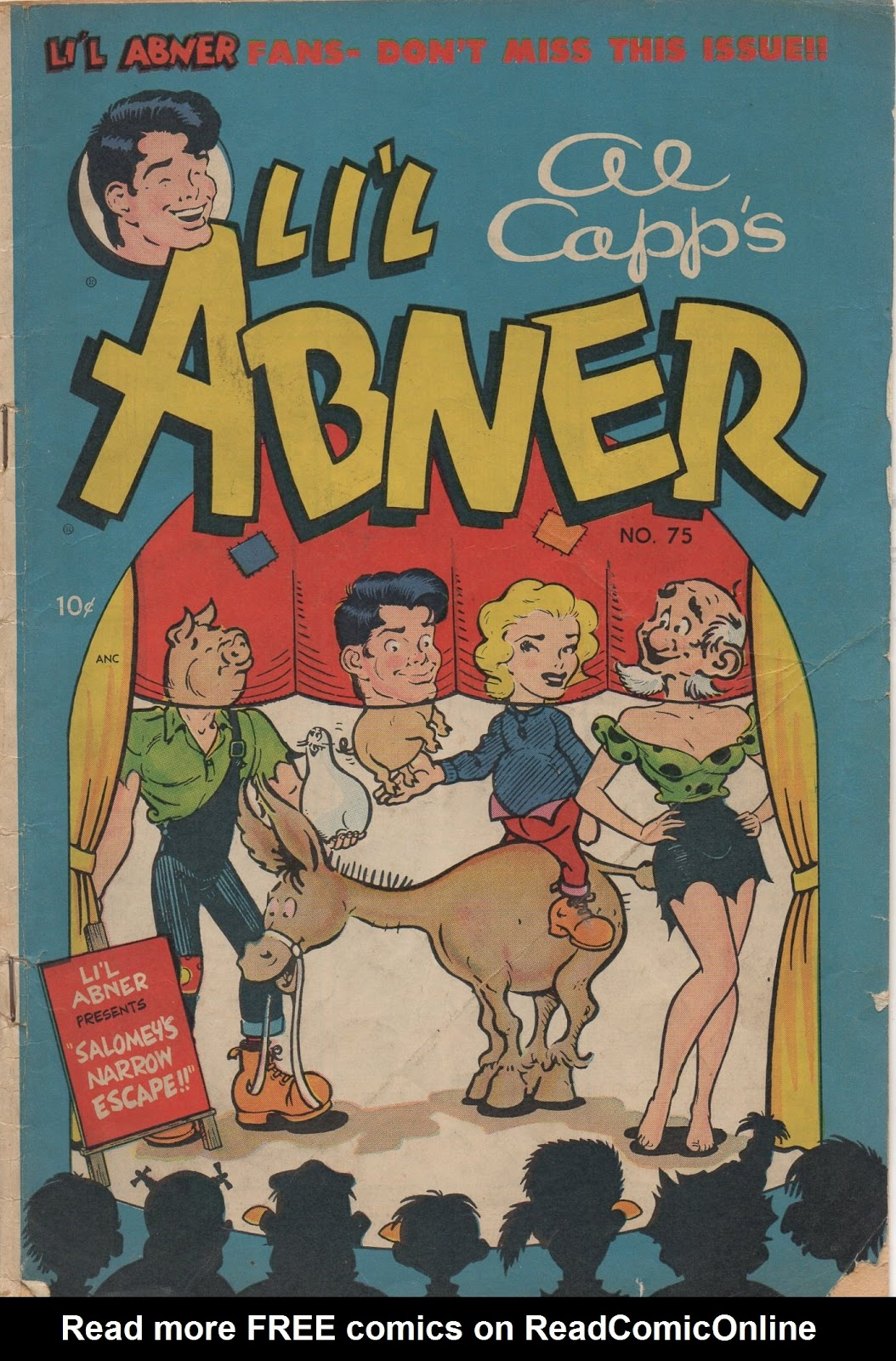 Lil Abner Comics 75 Page 1