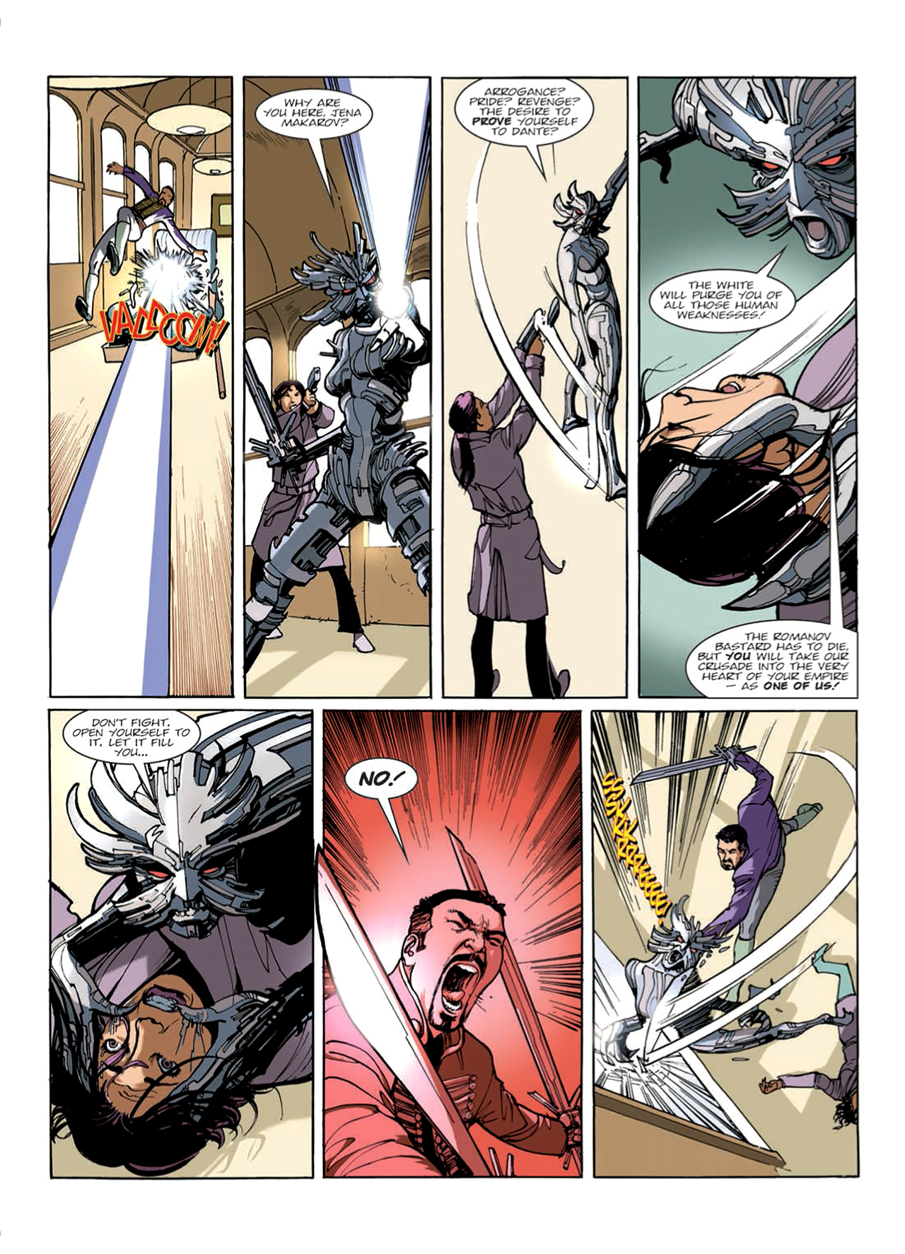 Read online Nikolai Dante comic -  Issue # TPB 9 - 46