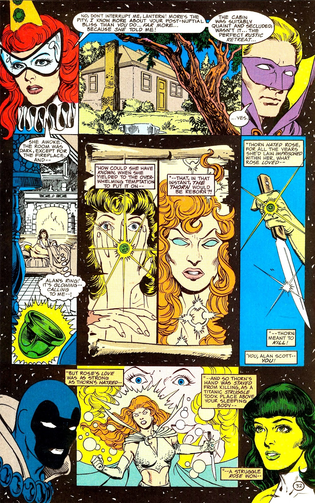 Infinity Inc. (1984) issue Annual 1 - Page 38