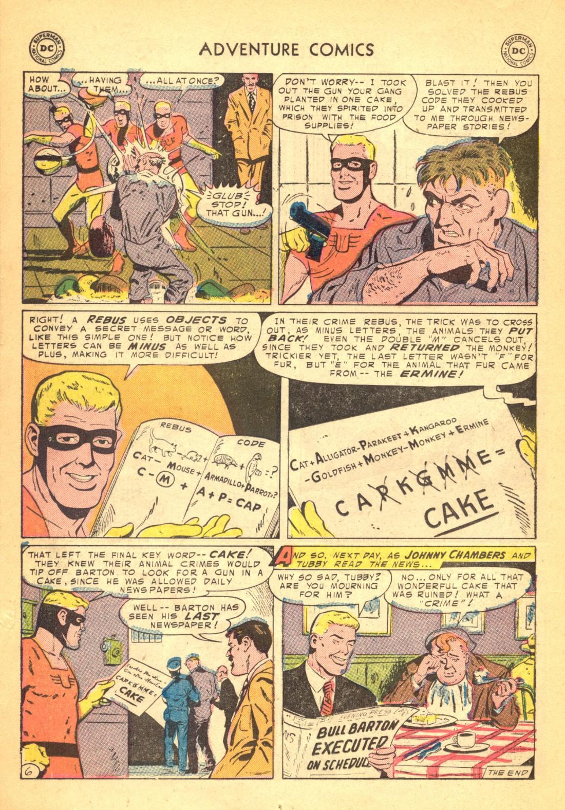 Read online Adventure Comics (1938) comic -  Issue #202 - 22