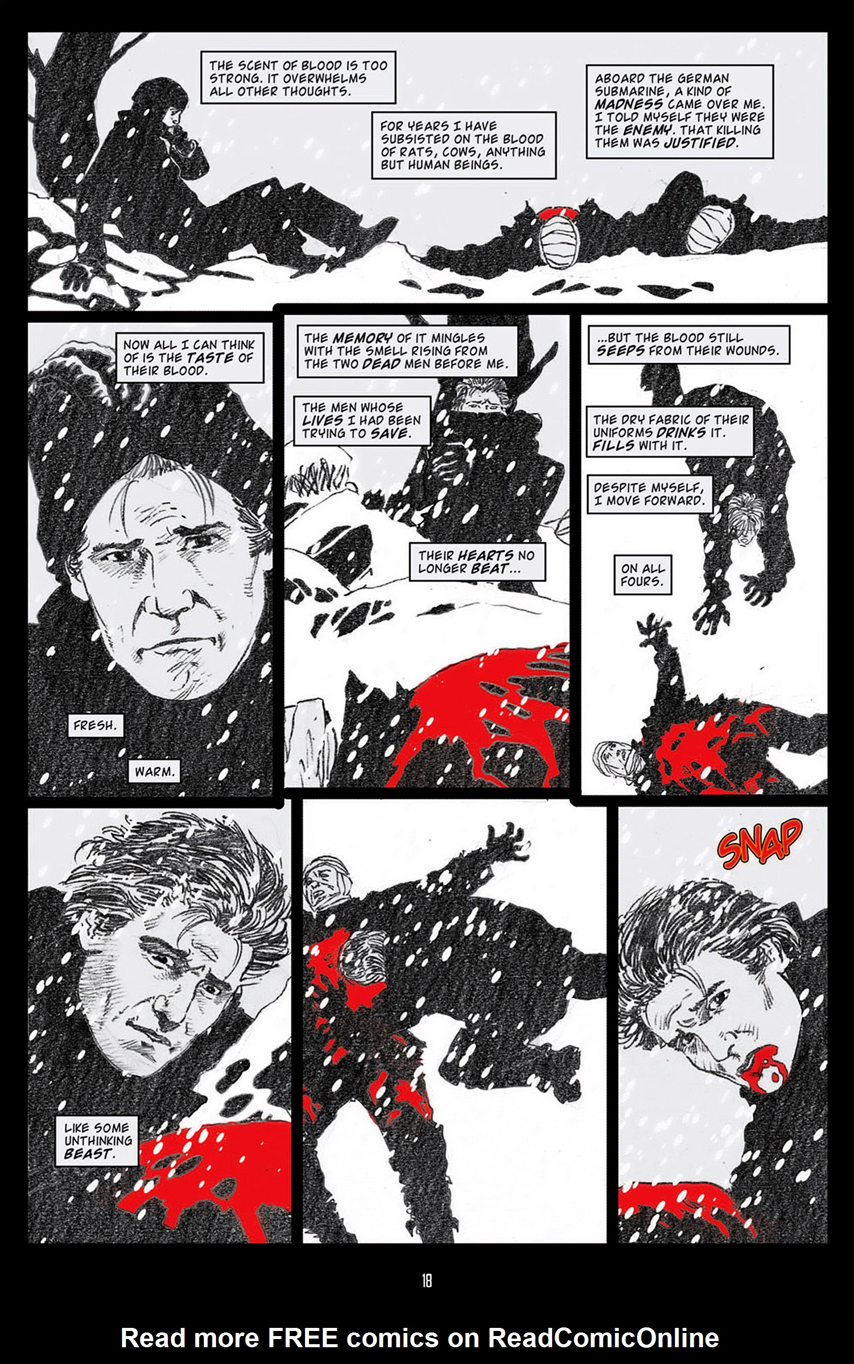 Read online Angel: Blood & Trenches comic -  Issue #1 - 21
