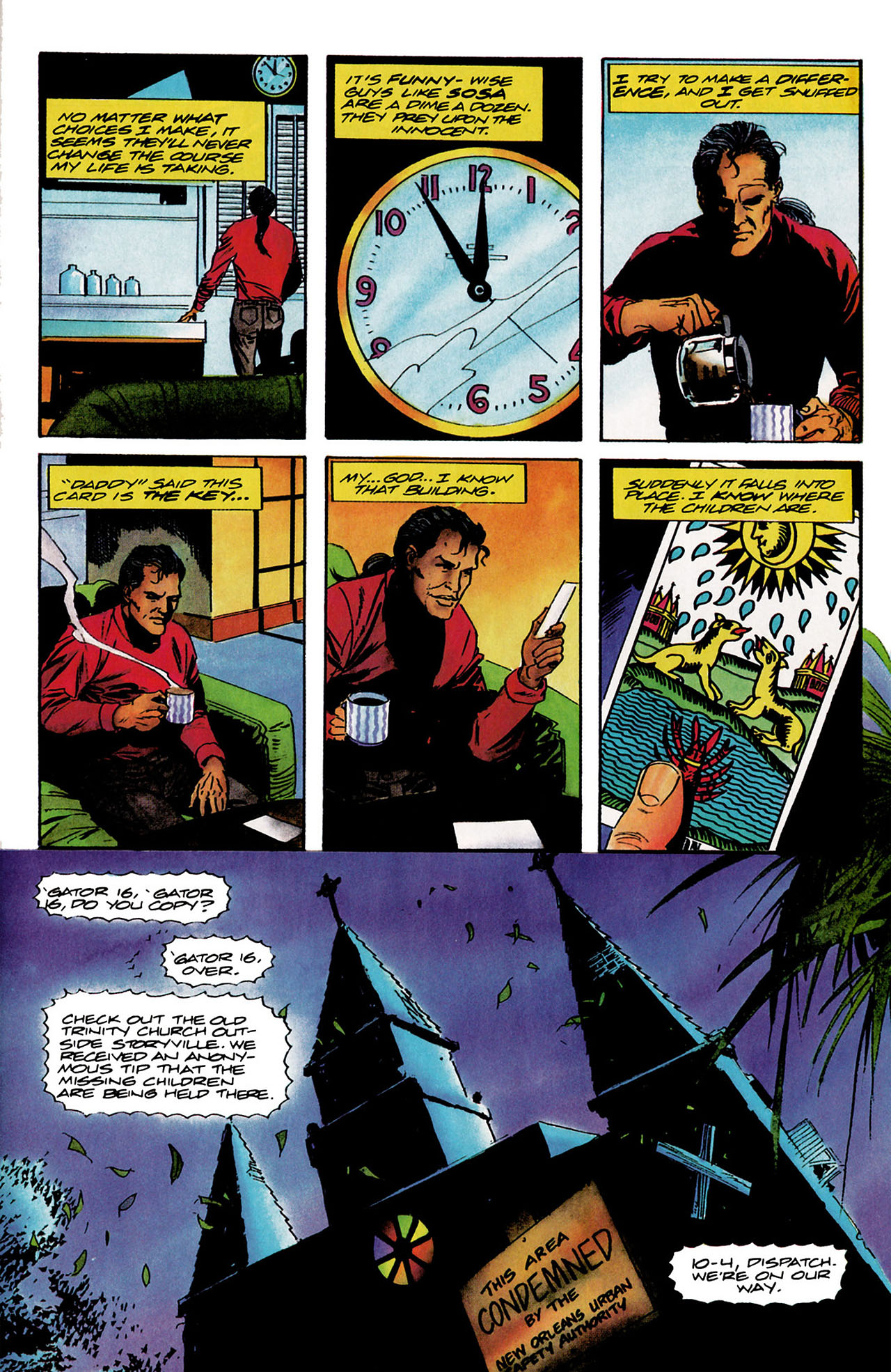 Read online Shadowman (1992) comic -  Issue #9 - 15