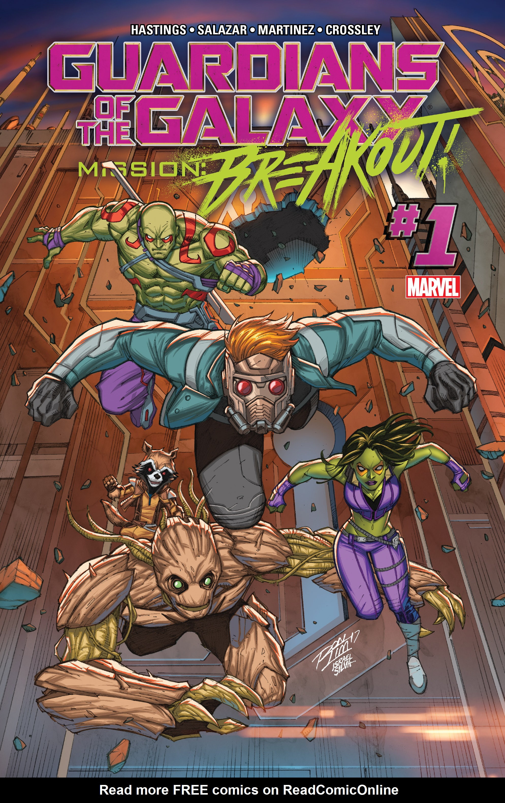 Read online Guardians of the Galaxy: Mission Breakout comic -  Issue # Full - 1
