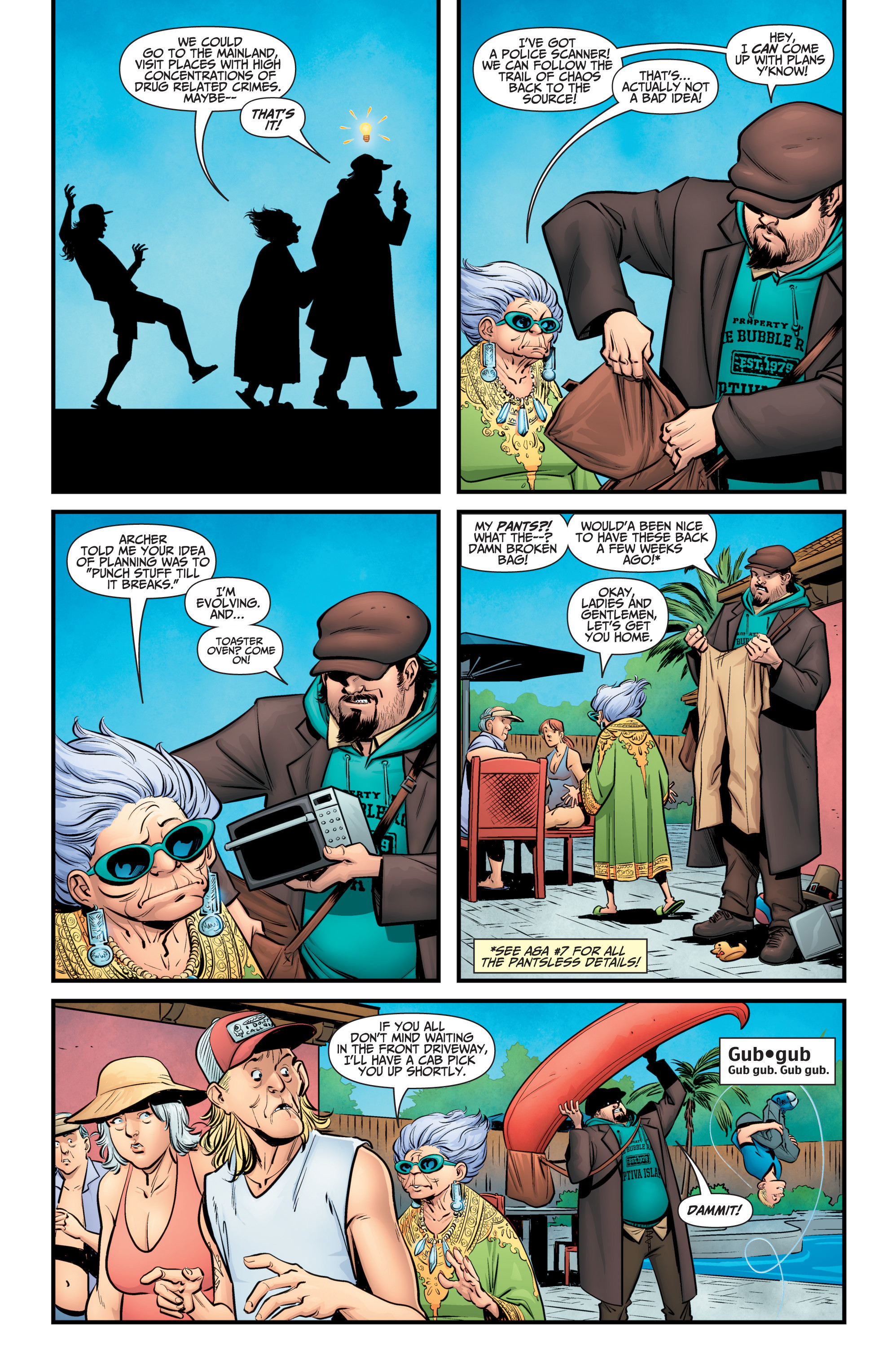 Read online A&A: The Adventures of Archer & Armstrong comic -  Issue #11 - 7