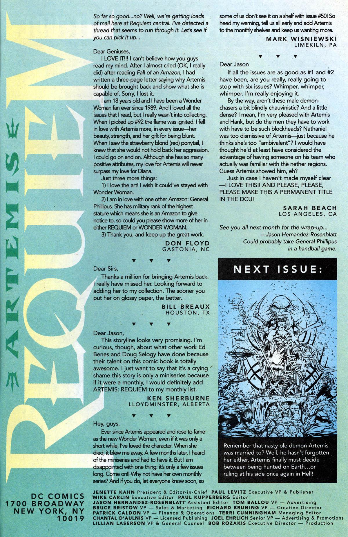 Read online Artemis: Requiem comic -  Issue #5 - 31