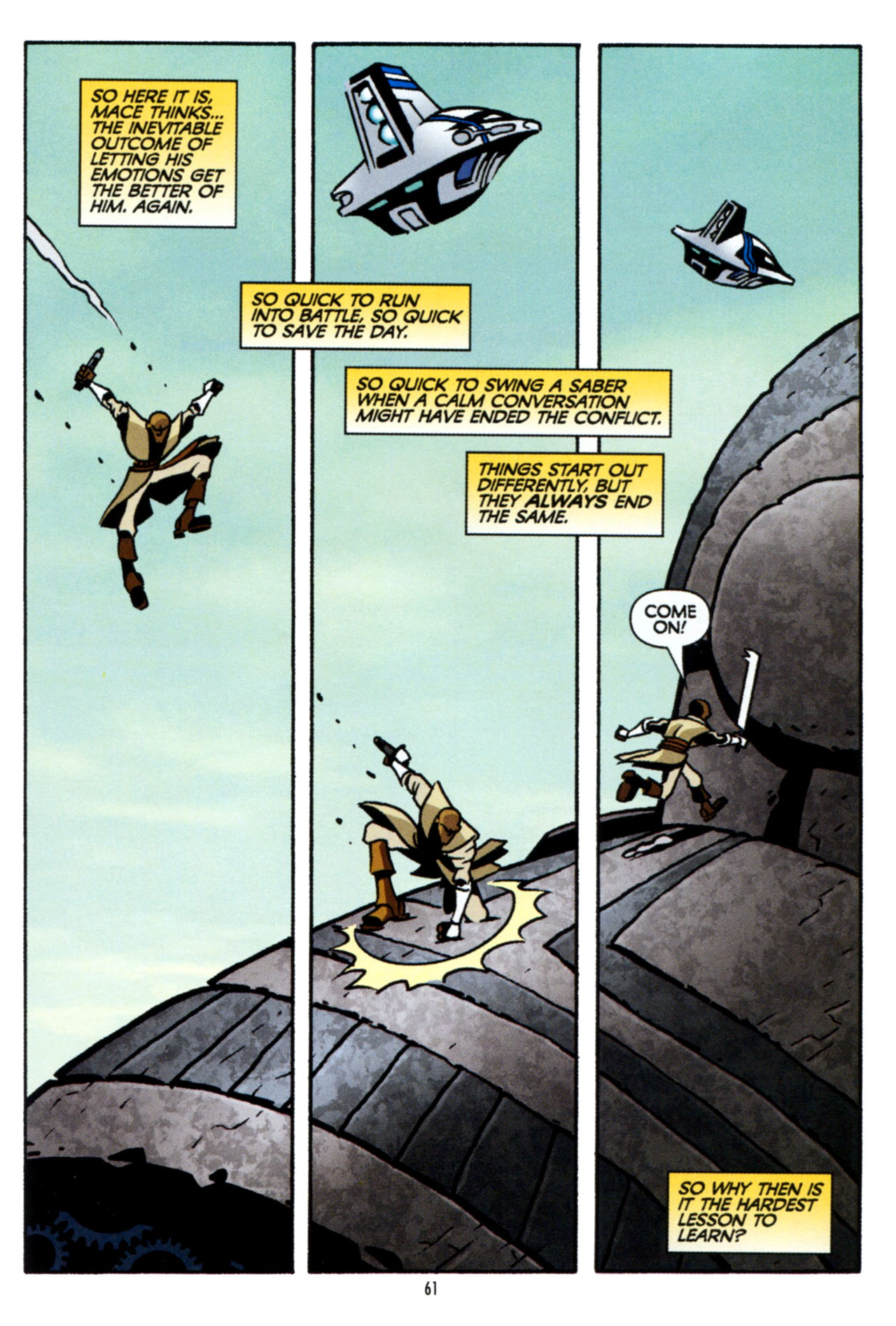Read online Star Wars: The Clone Wars - The Colossus of Destiny comic -  Issue # Full - 61