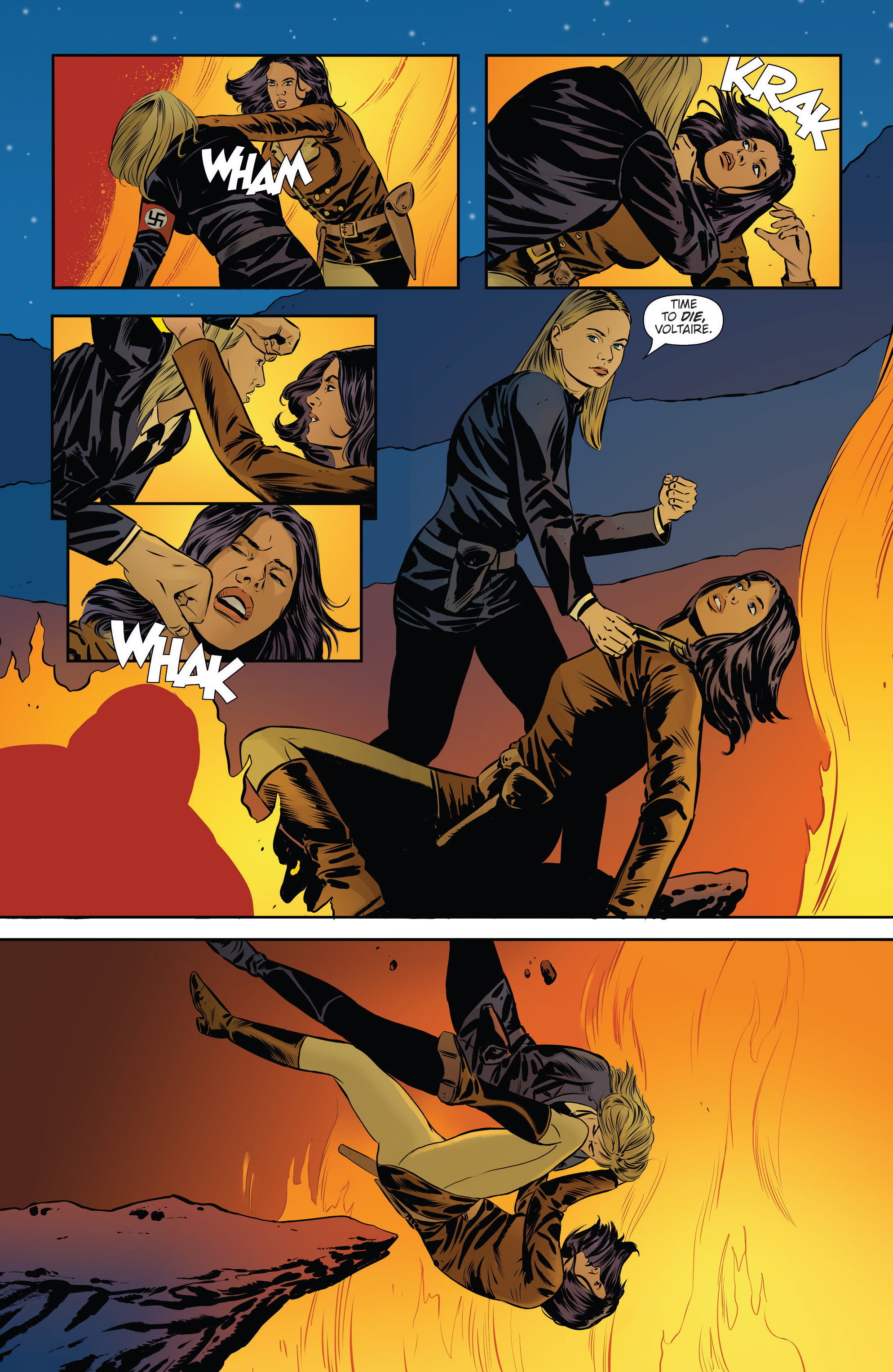 Read online Athena Voltaire and the Volcano Goddess comic -  Issue #3 - 22