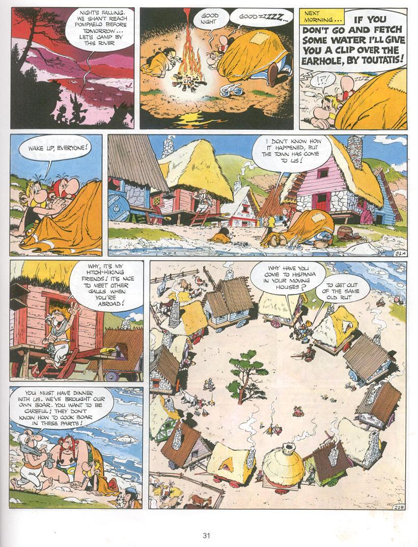 Read online Asterix comic -  Issue #14 - 28