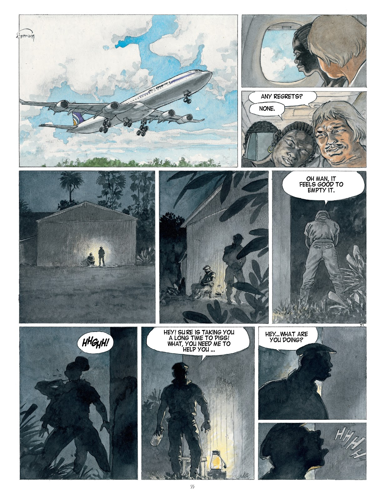 Read online Afrika comic -  Issue # TPB - 55