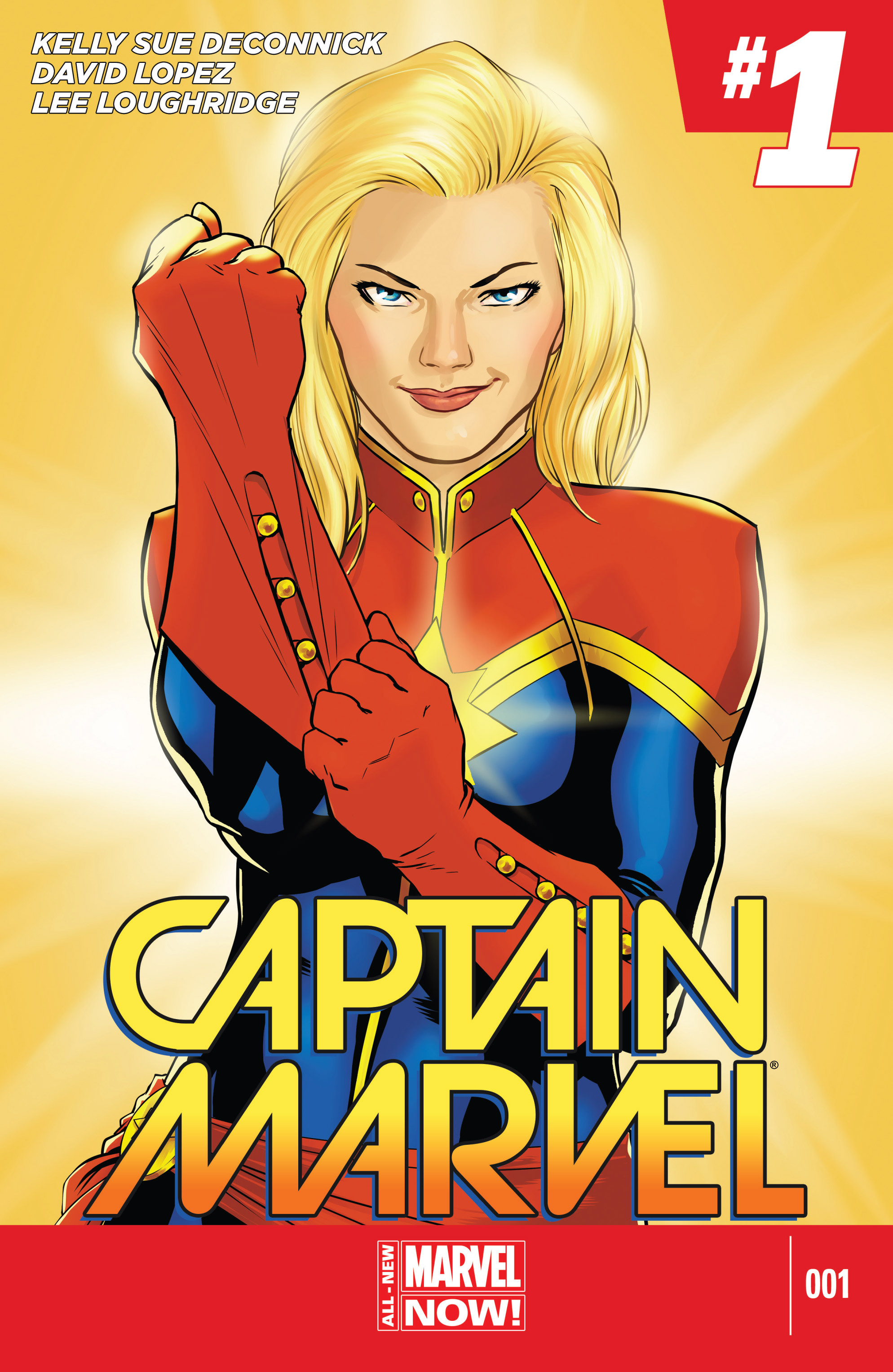 Captain Marvel (2014) 1 Page 1