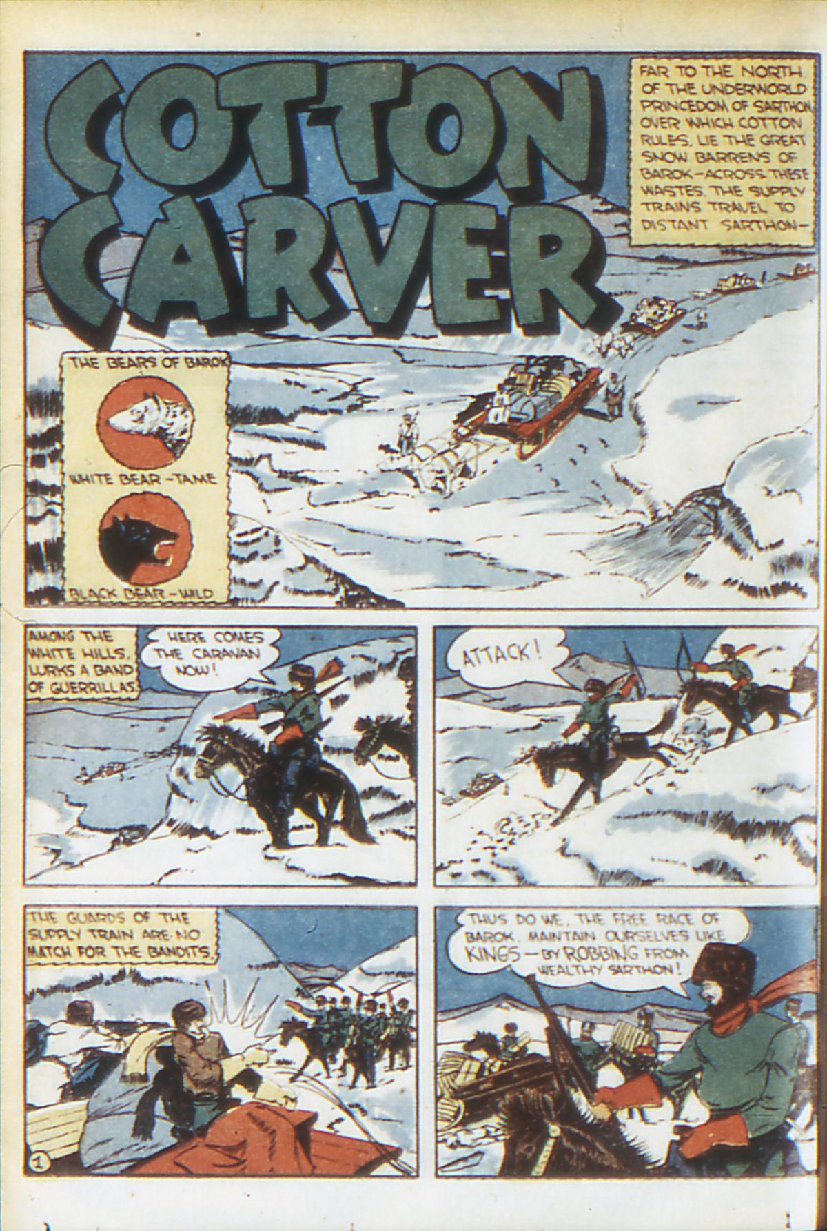 Read online Adventure Comics (1938) comic -  Issue #64 - 49