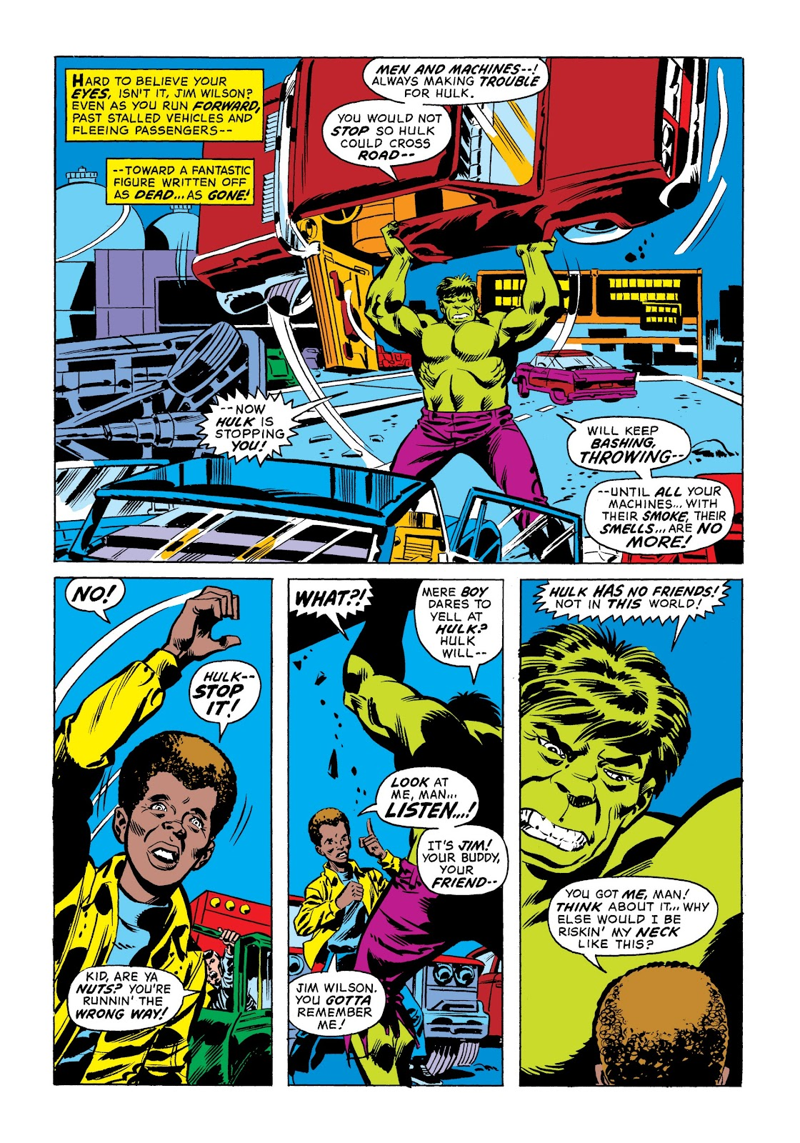 Read online Marvel Masterworks: The Incredible Hulk comic -  Issue # TPB 9 (Part 1) - 21
