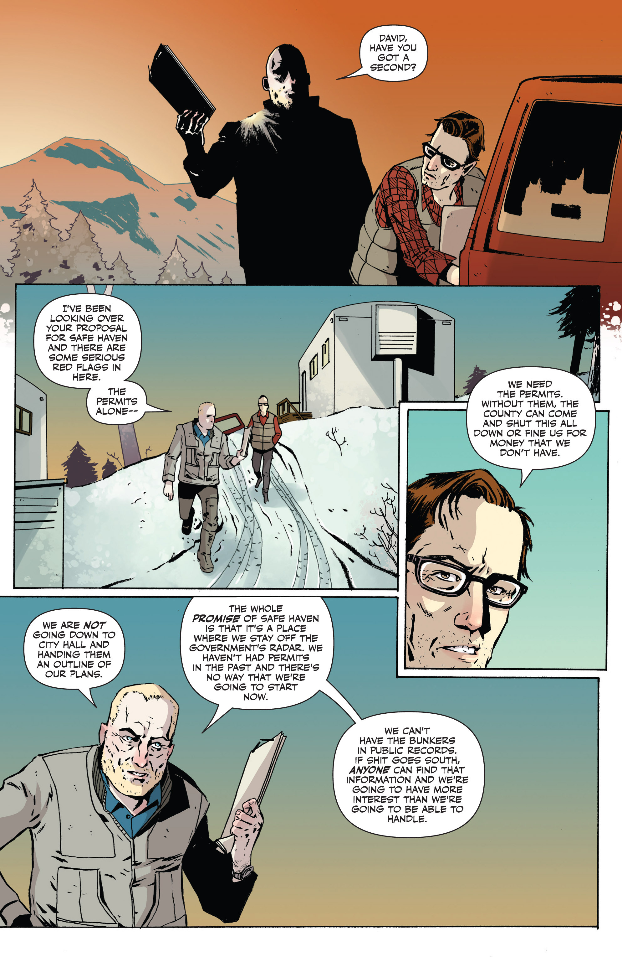 Read online Sheltered comic -  Issue #1 - 12