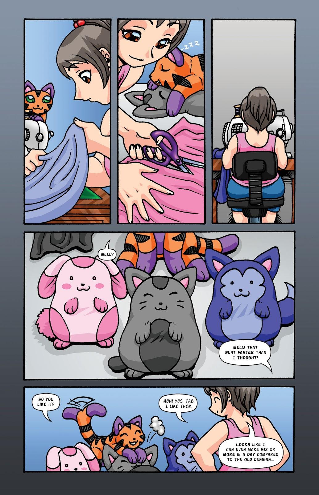 Read online Plush comic -  Issue #2 - 10