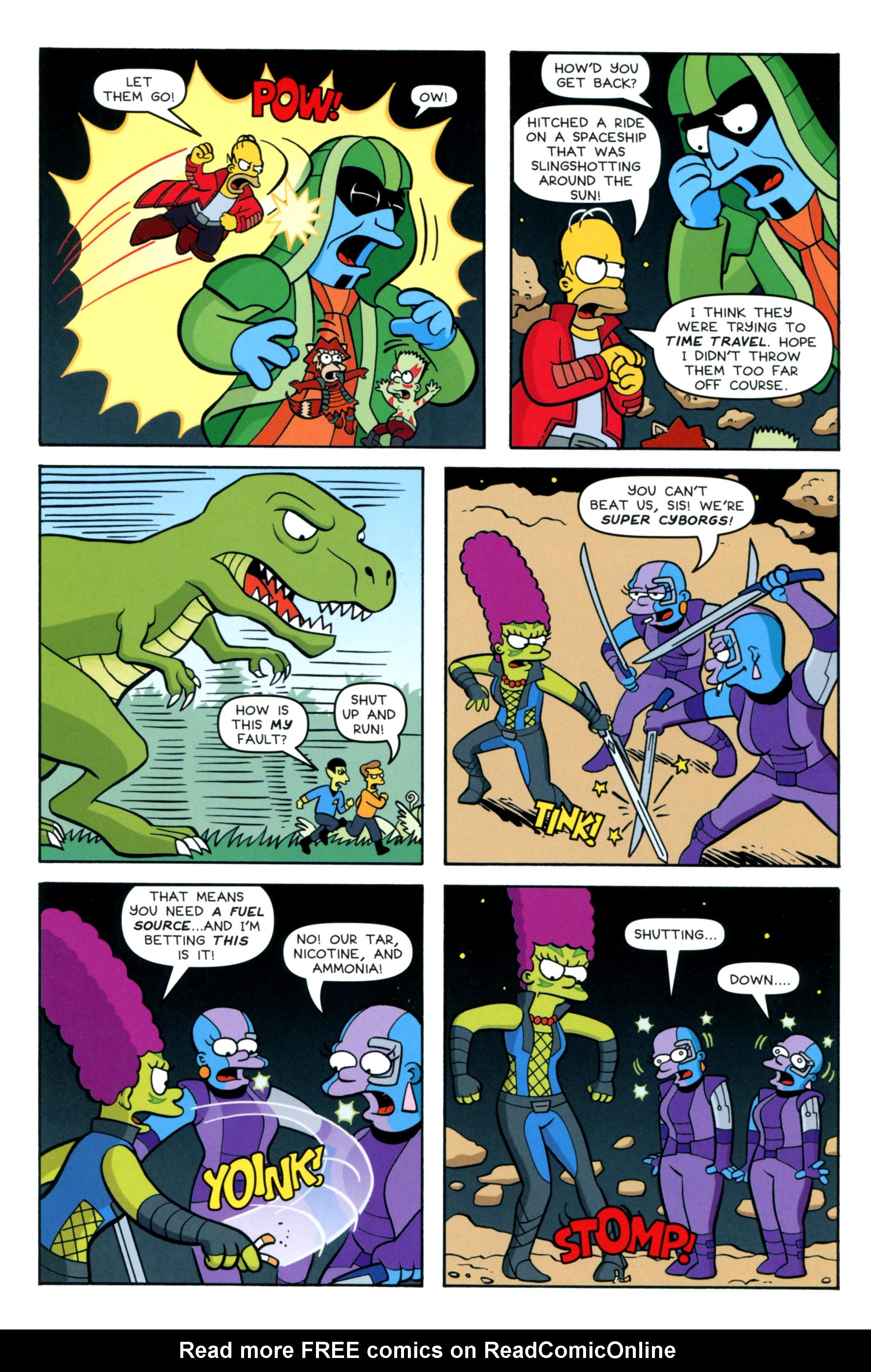 Read online Simpsons Comics comic -  Issue #218 - 12
