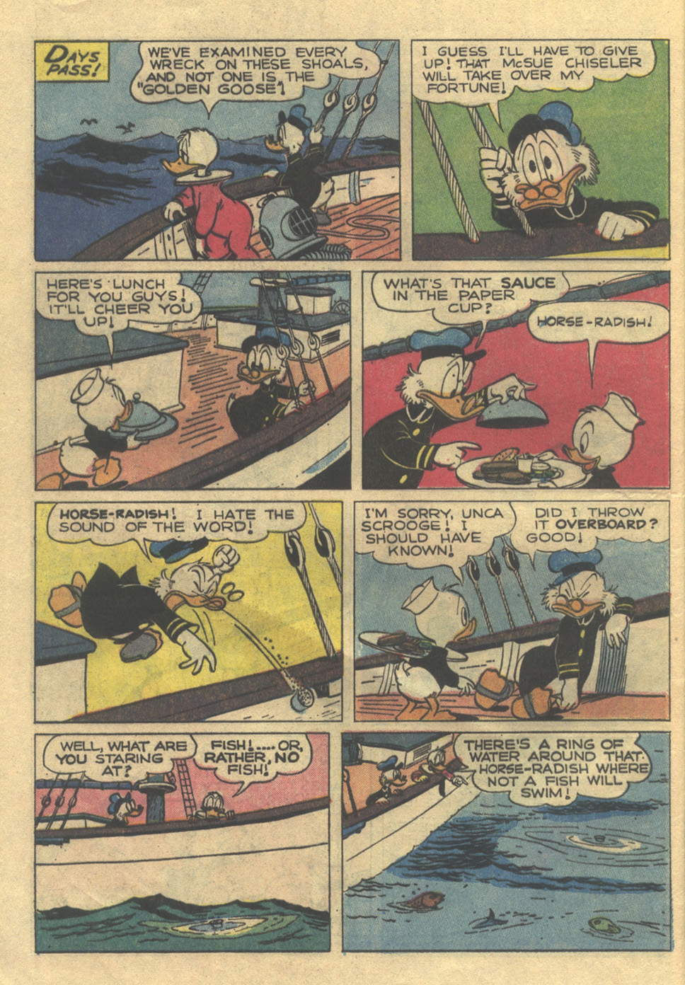 Read online Uncle Scrooge (1953) comic -  Issue #105 - 12