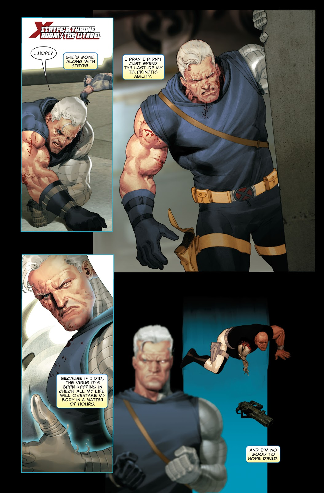 Read online X-Force/Cable: Messiah War comic -  Issue # _TPB (Part 2) - 98