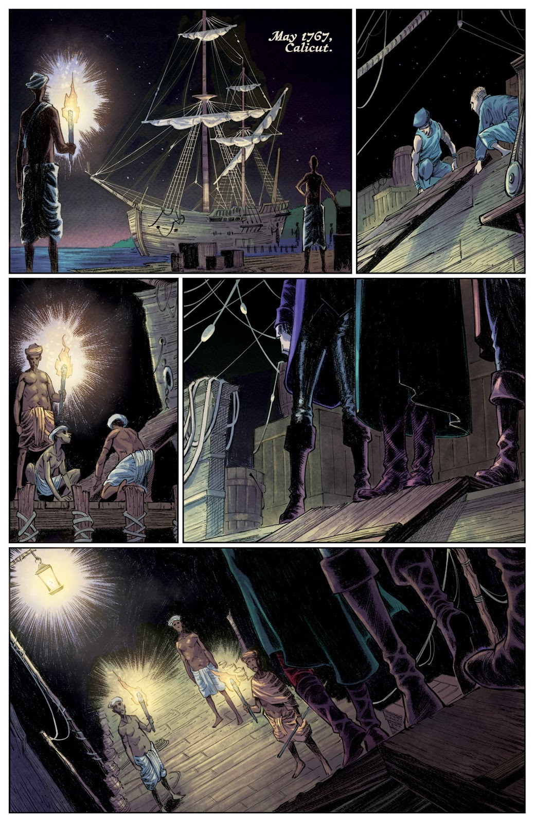 Read online These Savage Shores comic -  Issue #3 - 23