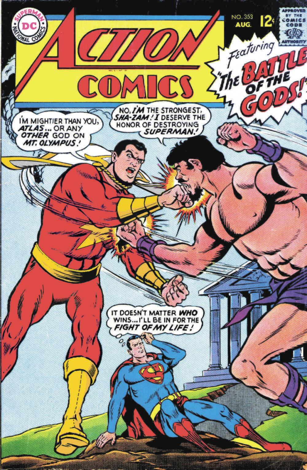 Read online Action Comics (1938) comic -  Issue #353 - 1