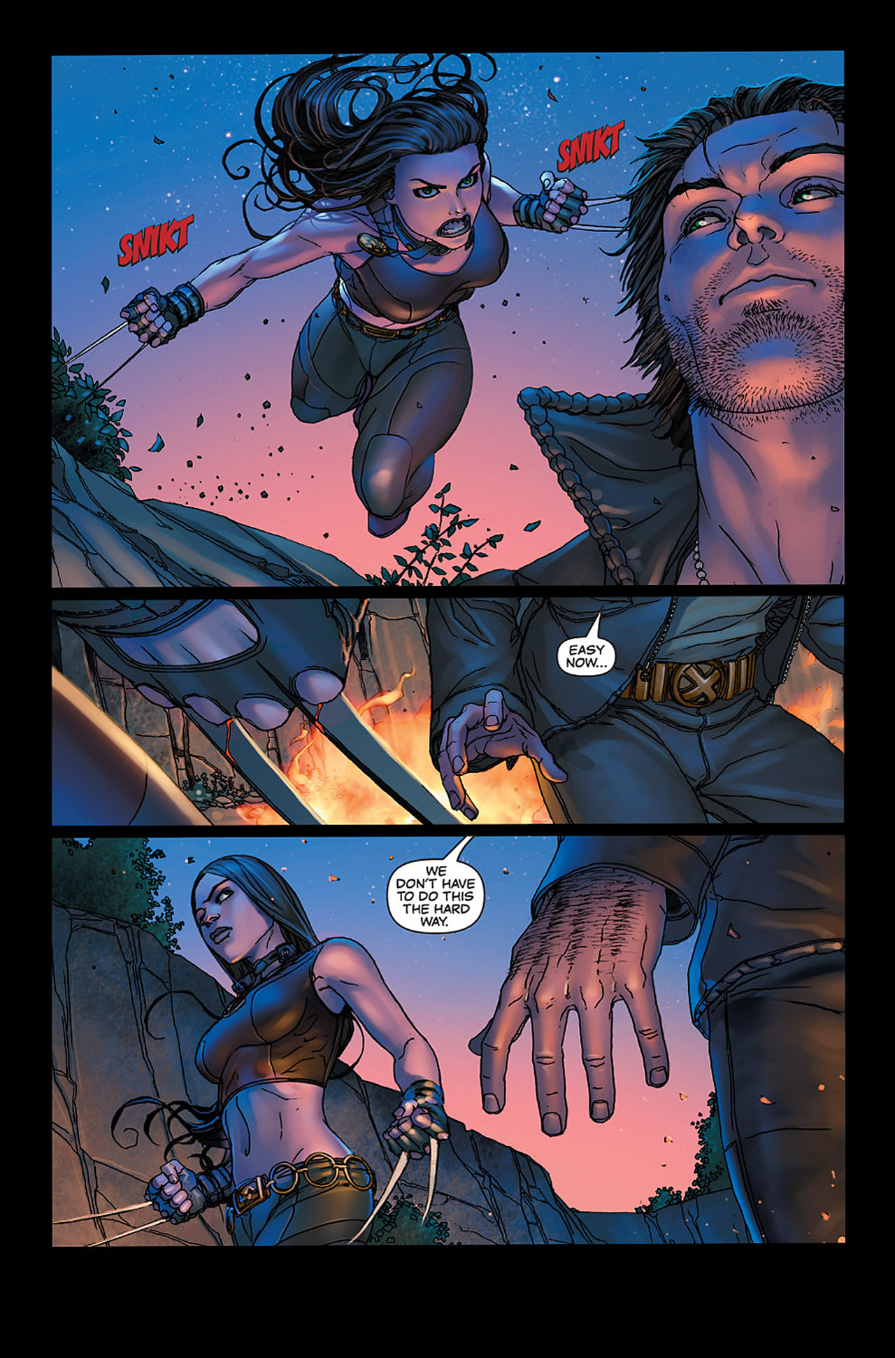 Read online X-23: Target X comic -  Issue #6 - 6