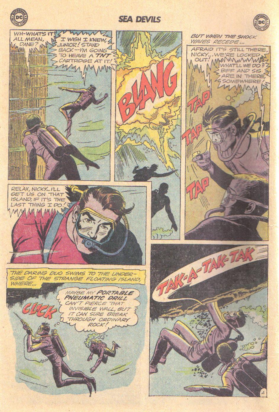 Read online Sea Devils comic -  Issue #16 - 6