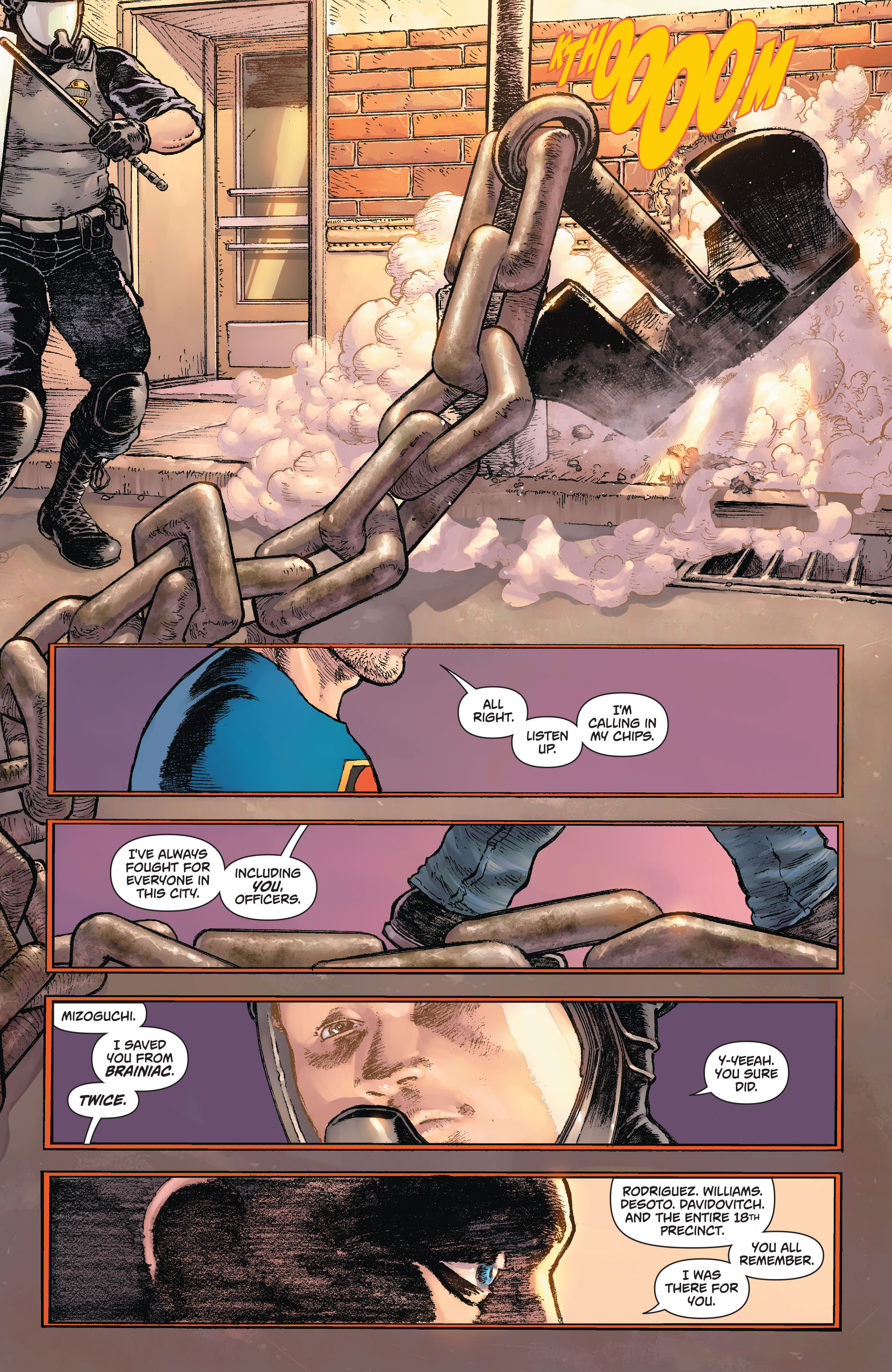 Read online Action Comics (2011) comic -  Issue #42 - 16