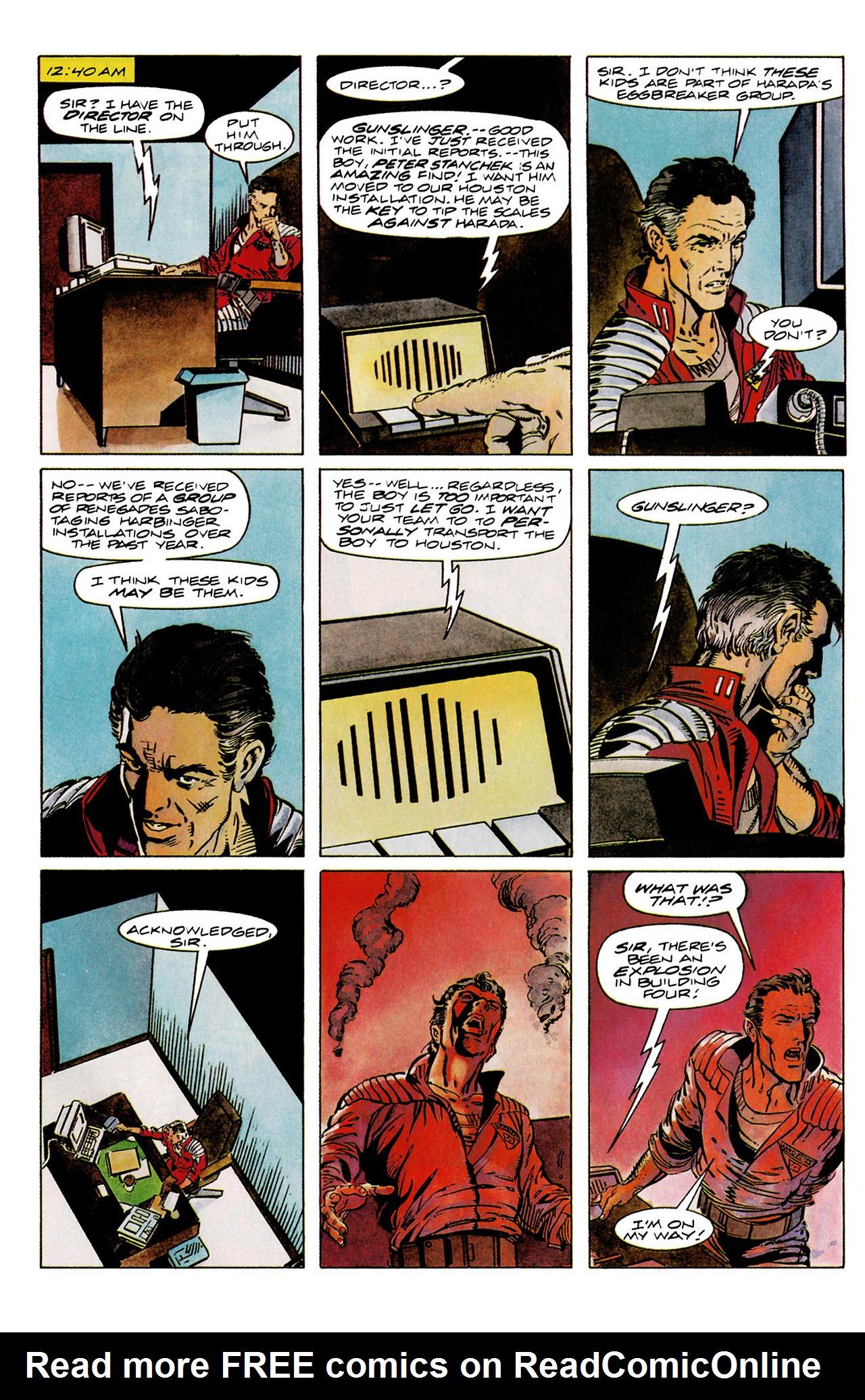 Read online Harbinger (1992) comic -  Issue #11 - 14