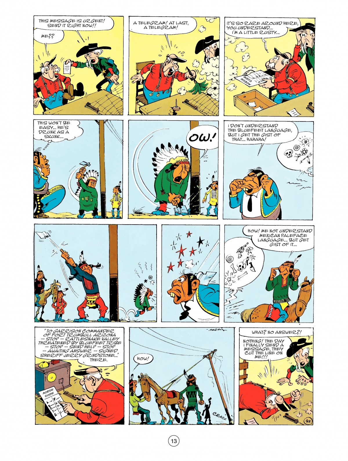 Read online A Lucky Luke Adventure comic -  Issue #43 - 13