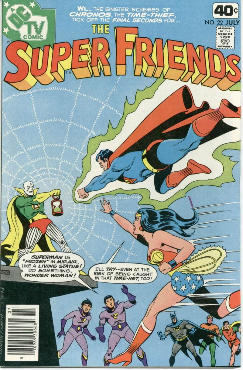 The Super Friends issue 22 - Page 1