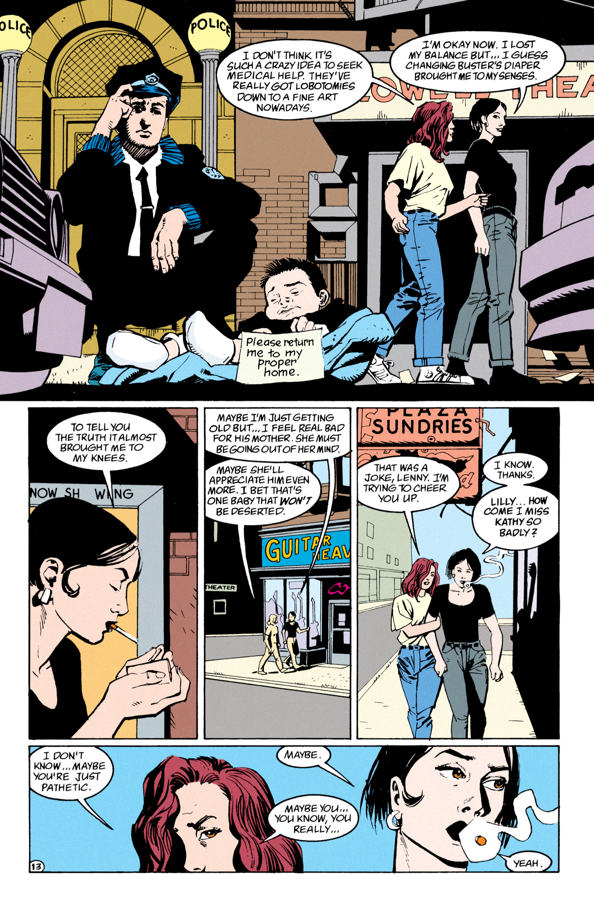 Read online Shade, the Changing Man comic -  Issue #53 - 14