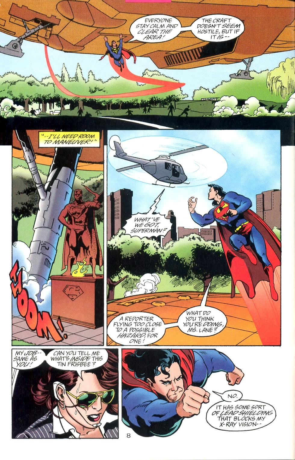 Read online Adventures of Superman (1987) comic -  Issue #527 - 9