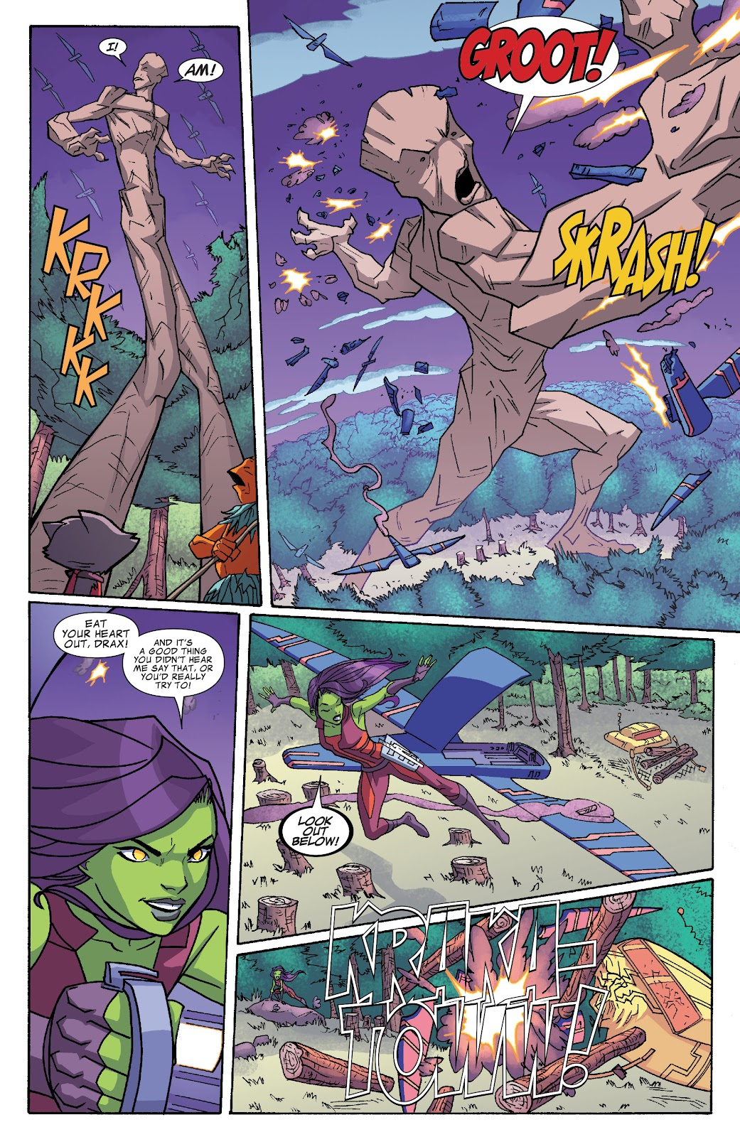 Read online Marvel Universe Guardians of the Galaxy [I] comic -  Issue #4 - 10