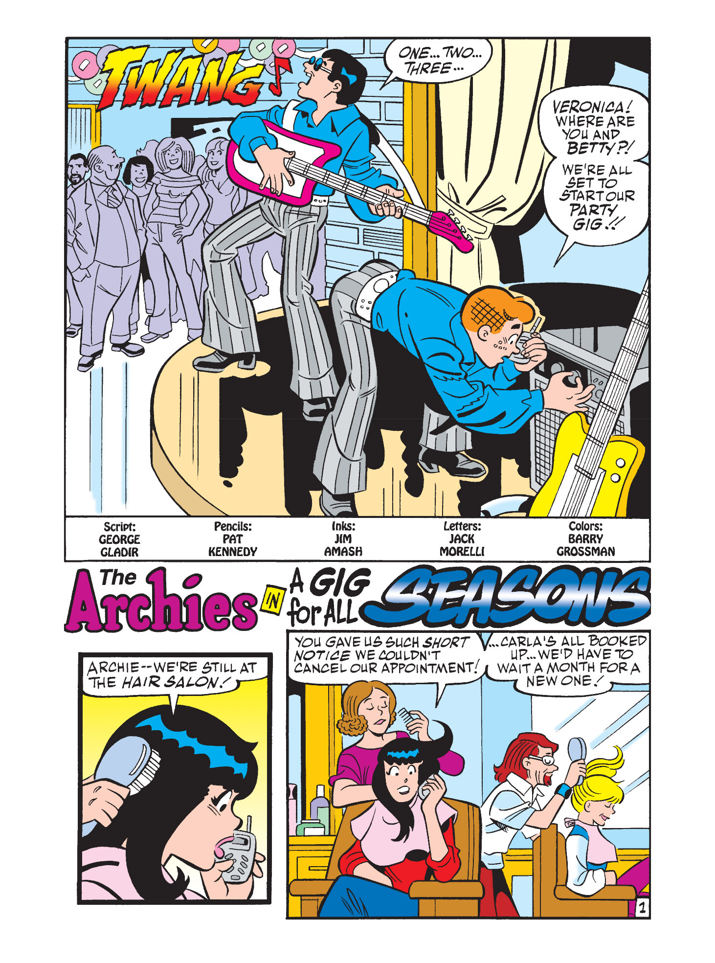 Read online Archie's Funhouse Double Digest comic -  Issue #9 - 89