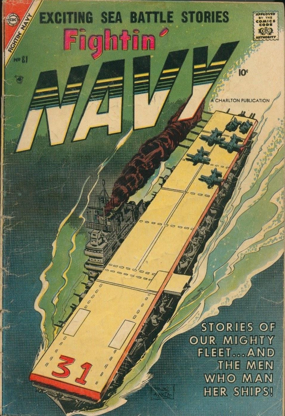Read online Fightin' Navy comic -  Issue #81 - 1