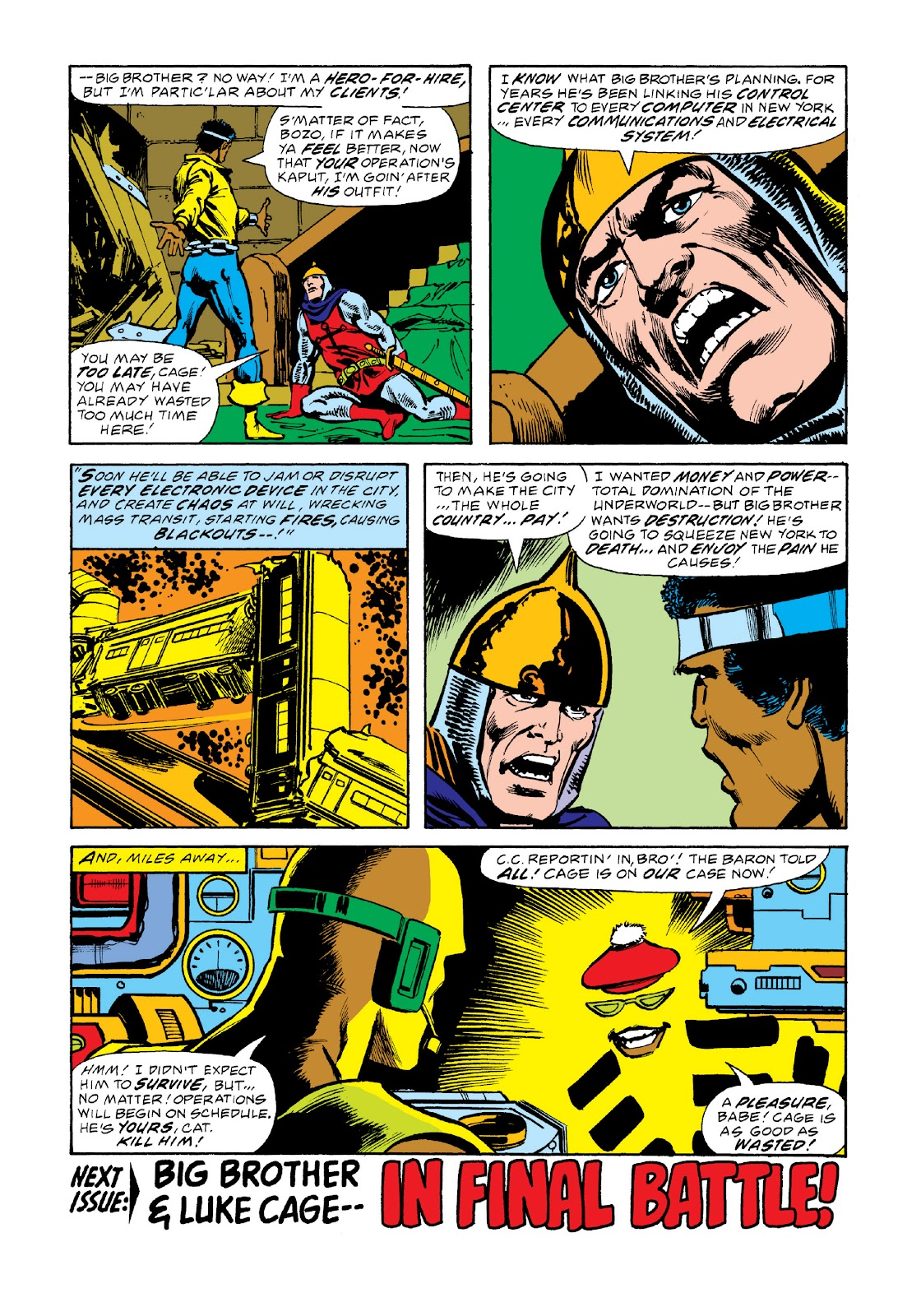 Read online Marvel Masterworks: Luke Cage, Power Man comic -  Issue # TPB 3 (Part 2) - 72