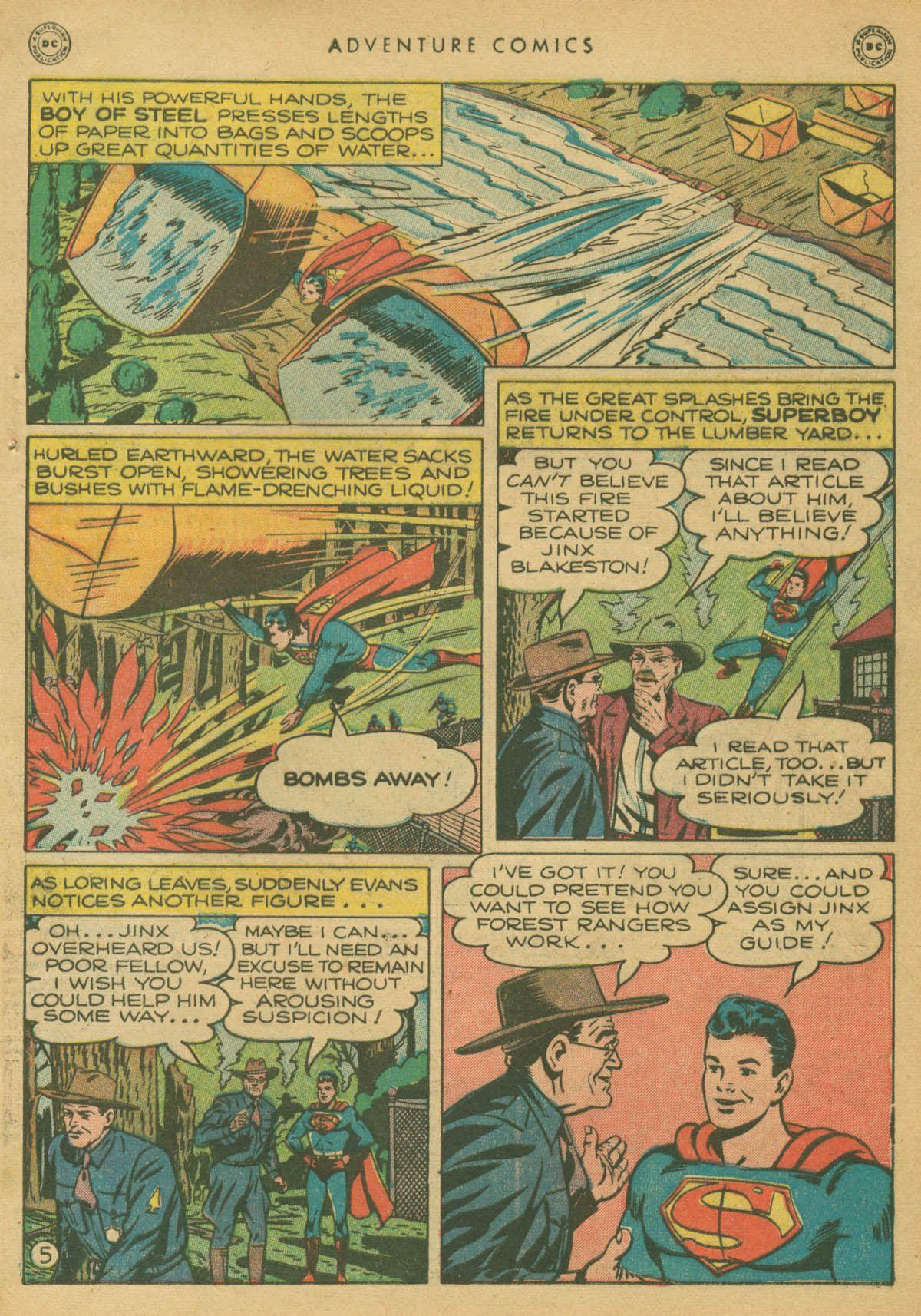 Read online Adventure Comics (1938) comic -  Issue #142 - 6